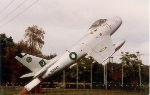 An-old-Sabre-Jet-Fighter-F-86-displayed-at-a-Chowk-in-Sargodha-The-City-of-Eagles