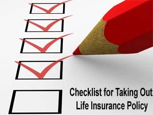 checklist-life-insurance-policy