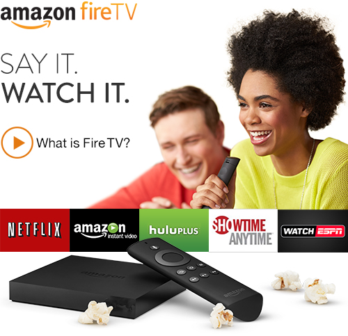 Amazon Announces A New Streaming Box The Fire TV