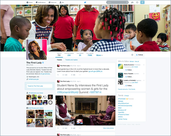 Twitter redesign looks a lot like Facebook