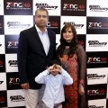 Chief Commercial Officer (CCO) Zong Babar Bajwa along with family attending the Zong Fast and Furious 7 Premiere in Karachi