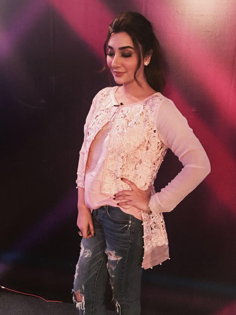 Ayesha Khan  at Islamabad auditions of Miss Veet Pakistan