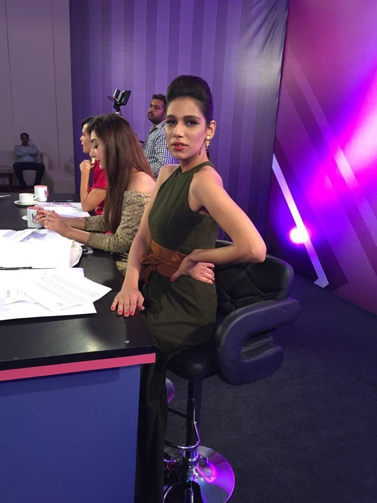 Fayezah Ansari at Lahore auditions
